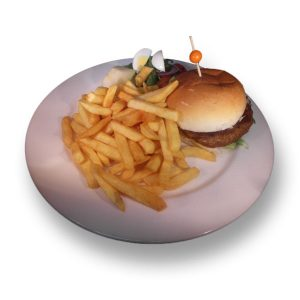 patat hamburger